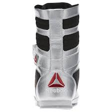 reebok boxing boots. reebok boxing boot - silver boots