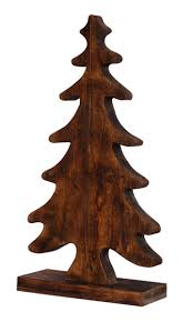 Small Picture Wholesale Hand Carved Mango Wood Christmas Tree Christmas