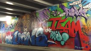 street art with taylor swift assist is lions tunnel highlight detroit lions blog espn