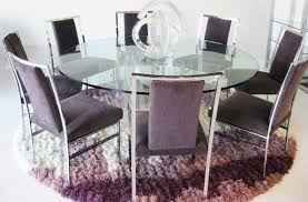 glass round dining table for 8 what are the benefits of large round dining table garden design