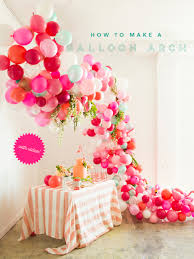 39 easy diy party decorations balloon arch quick and party decors easy
