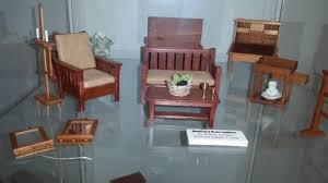 craftsman furniture. The Miniature Engineering Craftsmanship Museum: Craftsman Furniture