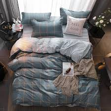 spring summer style cotton bedding sets super soft owl twin full queen king nordic style