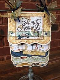 Scrapbook Page Display Stand