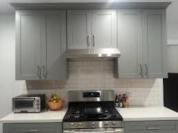 Light Gray Shaker Kitchen Cabinets Home Design Ideas White Cabinet