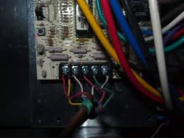 york hvac control board , thermostat, ac wiring connection 4 wire thermostat at York Thermostat Wiring