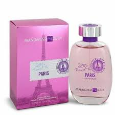 <b>Mandarina Duck Let's Travel</b> to Paris Eau De Toilette Spray 3.4 oz ...