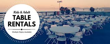 table chair party als in redondo beach ca
