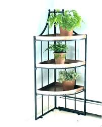 small plant stand garden stands metal iron outdoor shelf unique full size of shelves o outdoor plant stands
