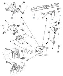 Mopar insulator eng mt frt 4668182 plymouth neon engine mount diagram at nhrt