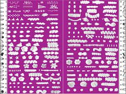 Wilton Decorating Tips Chart How Do I Practice Piping Icing Without Wasting Icing And