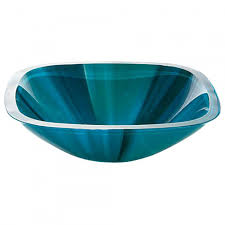 Glass Sink Bathroom Turquoise Glass Vessel Sink Bathroom