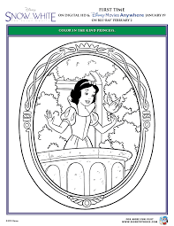 411,014 disney princess snow white printed: Snow White And The Seven Dwarfs Printable Coloring Pages
