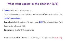 Citation Ppt Download
