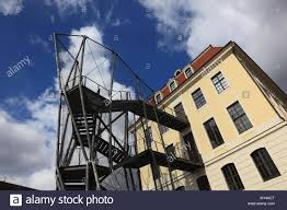 deconstructive architecture. Delighful Deconstructive The Controversial Fire Escape Of The Historical Landhaus Now Dresden City  Museum Mit Der To Deconstructive Architecture