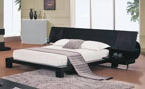 platform bed with built in nightstands. Contemporary Nightstands Global Furniture USA Soho Platform Bed With Built In Night Stands To Nightstands K