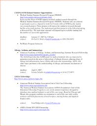 internal medicine residency cv sample cipanewsletter sample medical student cv for residency clasifiedad com