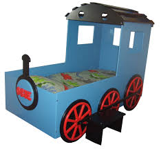Kids Train Blue Boys Bed | Kids Themed Beds | Childrens Novelty ...