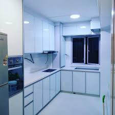 full aluminium kitchen cabinet singapore