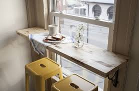 Until these dreams become reality, creating a small dining space in the  kitchen ...