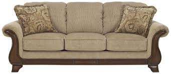 signature design by ashley lanett sofa with flared arms exposed