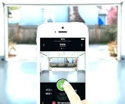 craftsman smart garage door opener craftsman smart garage door opener garage door app app controlled garage