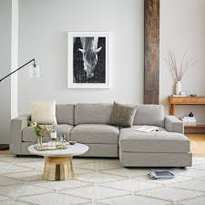 who makes west elm furniture. Urban 2-Piece Chaise Sectional - Small Who Makes West Elm Furniture Z