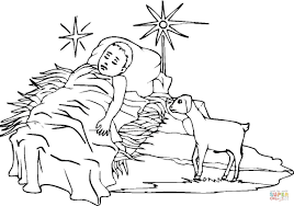 Small Picture Baby Jesus coloring page Free Printable Coloring Pages