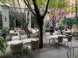gardens for outdoor dining in nyc