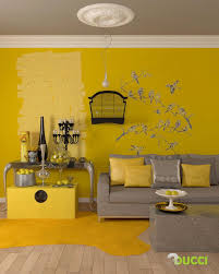 yellow wall decor for bedroom. Contemporary Decor Decor Gray And Yellow Wall Inspiring Living Room Grey Decorating  Ideas Cozy Pic For Bedroom