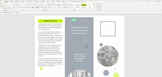 How To Make Your Own Brochure On Microsoft Word How To Make A Brochure On Microsoft Word Pce Blog