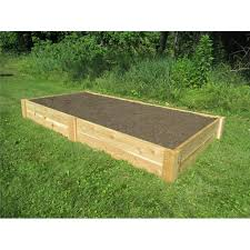 8 cedar garden raised bed