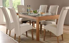 glass dining table with wooden chairs. wood base glass dining table round and chairs with wooden
