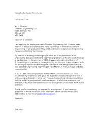 Mechanical Engineering Cover Letter Resume And Cover Letter