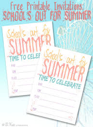 Bnute Productions Free Printable Schools Out For Summer