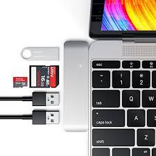 Amazon.com: Satechi Aluminum Type-C USB 3.0 3-in-1 Combo Hub Adapter ...