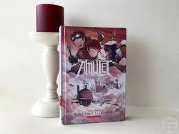 graphic novel review of the cloud searchers amulet 3 by kazu kibuishi the cloud searchers by kazu kibuishi is book