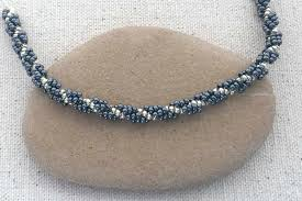 Spiral Beads Design Easy Spiral Stitch Rope
