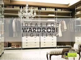 wardrobe lighting ideas. Wardrobe Lighting Ideas F