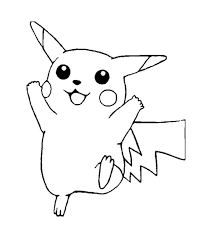 Small Picture Free Printable Pokemon Coloring Pages Pikachu Aquadisocom