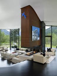 ceiling fireplace