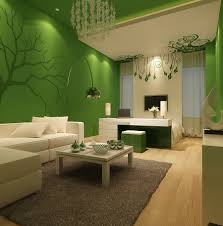 Painting Your Living Room Bring Nature To Your Living Room By Painting It Green Amazing