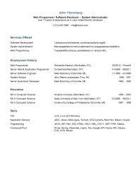Classic Resume Template Classy 28 Basic Resume Templates