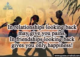 Good Friendships Only Gives Happiness Oruthuli Quotes