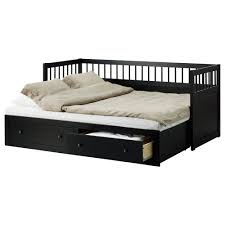 HEMNES Daybed frame with 2 drawers IKEA Four features in one piece of  furniture - sofa, single bed, double bed and storage solution.