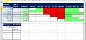 How To Create A Daily Gantt Chart In Microsoft Excel