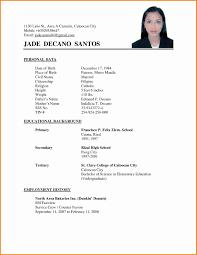 resume sample doc good resume format doc earpod co