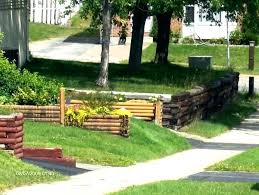 wood retaining walls cost wood retaining wall design example steep backyard retaining wall cost to rebuild