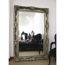 full length wall mirrors. Full Size Wall Mirror | Decor Mirrors Large French Ornate 7ft Silver Length