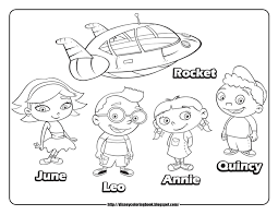 Small Picture Download Little Einsteins Coloring Pages little einsteins